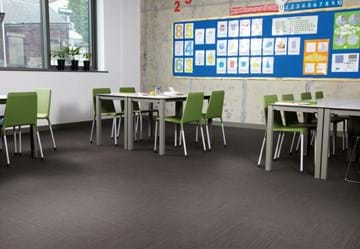 Amtico LVT for Education made of Linear Metallic Steel