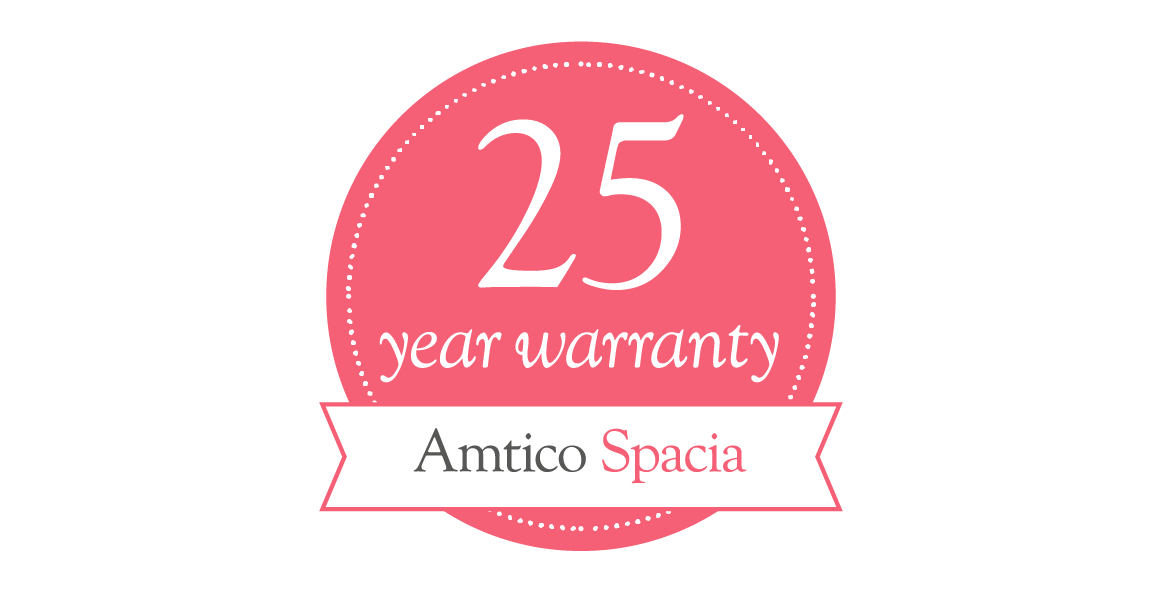 Amtico Spacia 25 year residential warranty