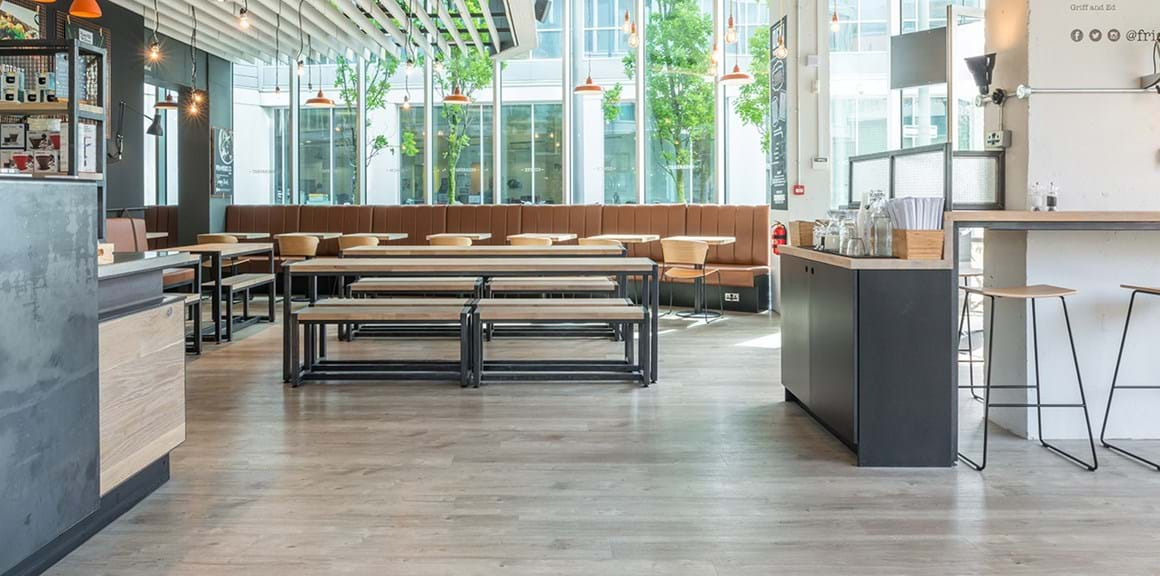 Amtico Commercial Lvt Flooring Friska Restaurants Case Study