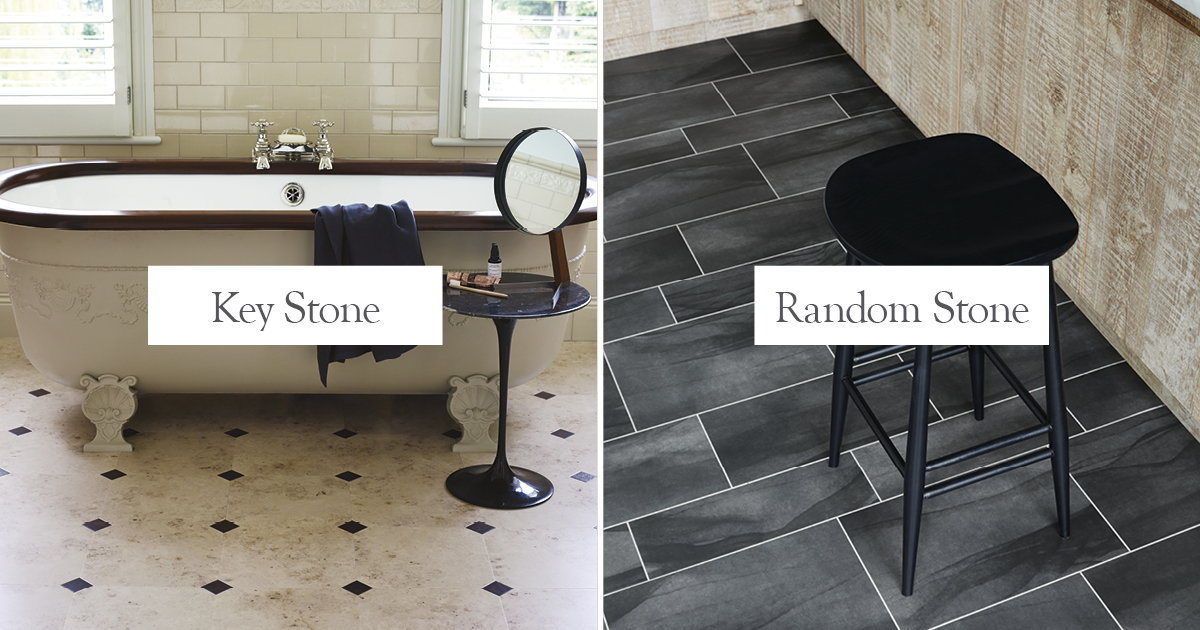 Key Stone or Random Stone? Perfect laying patterns for stone floors