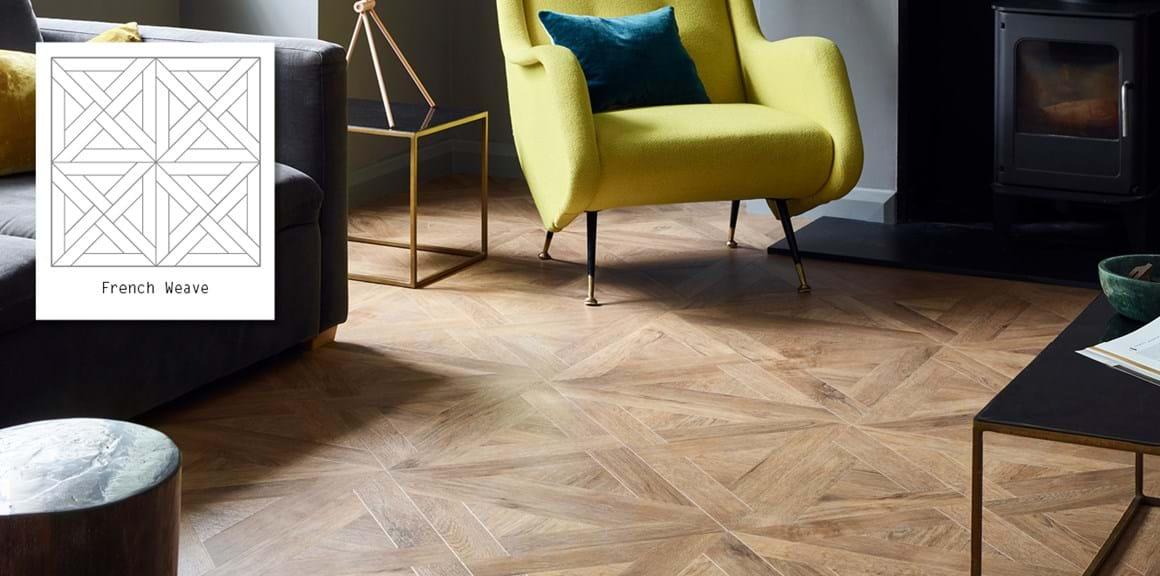 Designers 39 Choice French Weave Luxury Vinyl Flooring
