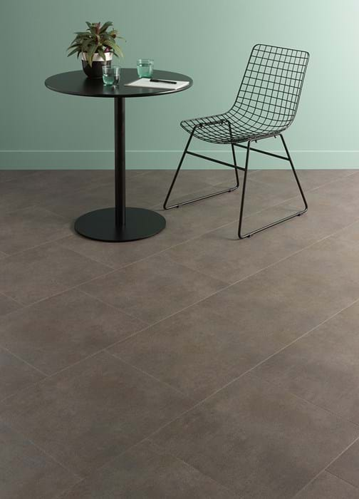 Amtico Spacia 36+, Ceramic Sable, SG5S3593, in Bonded Stone laying pattern