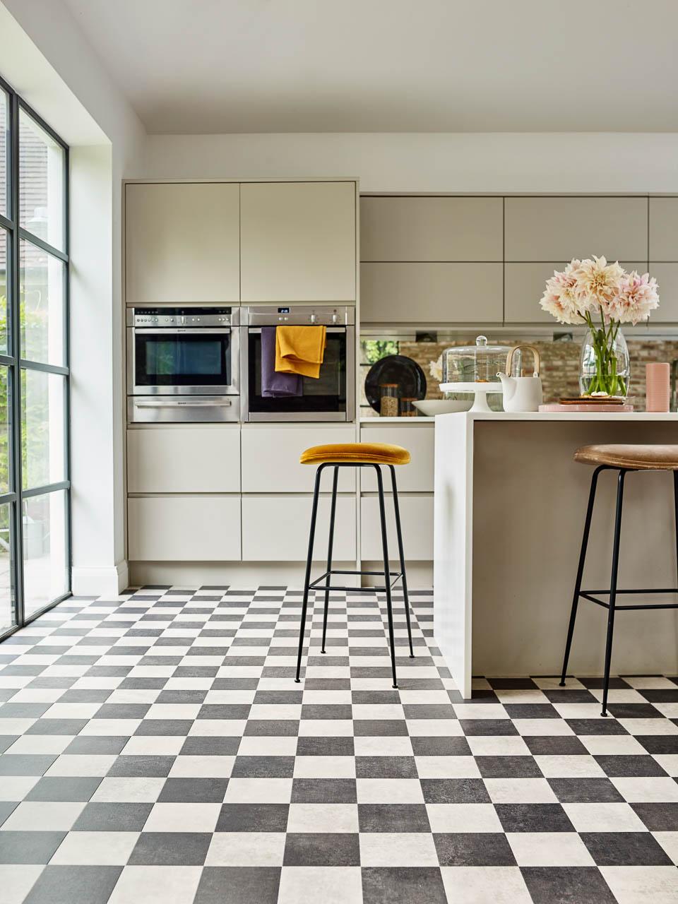 The Plaid A Beautiful Check Design Floor In Amtico Signature Lvt For Your Home Amtico For