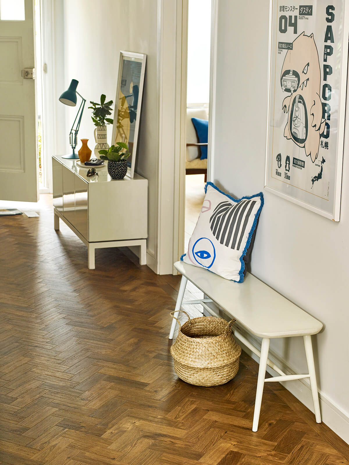 Amtico Spacia, Royal Oak, Parquet laying pattern