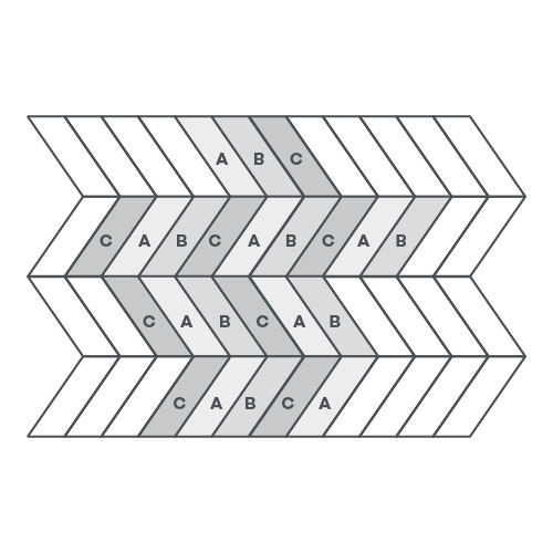 Pleat, 3 Products - EP127 wire image