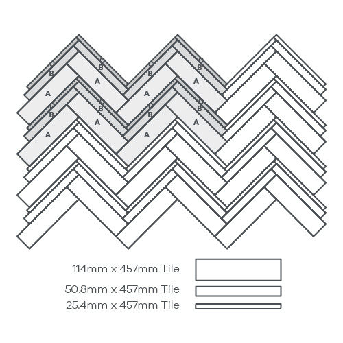 Wave Parquet, 3 Products - EP382 wire image
