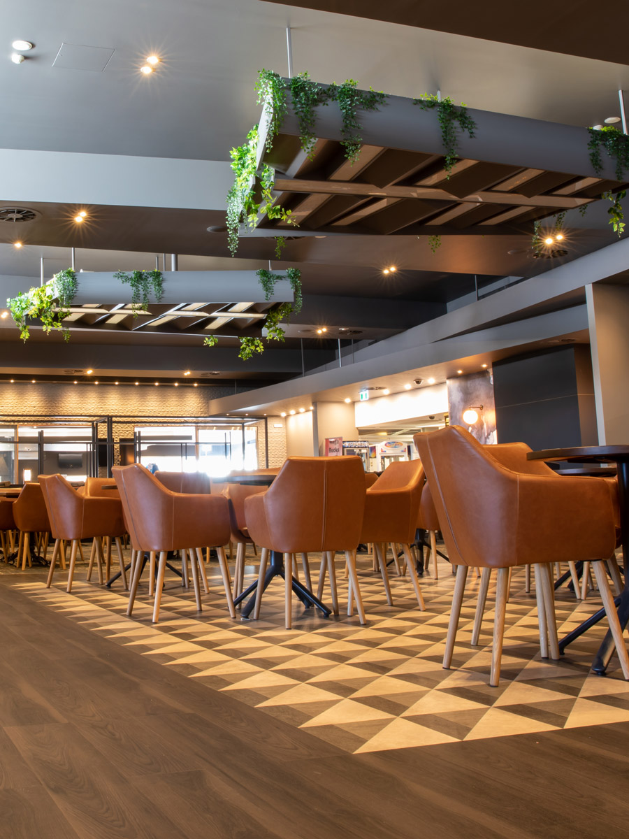 LVT Flooring in Twenty Six Twenty Bistro, The Roos Club, NSW, Australia