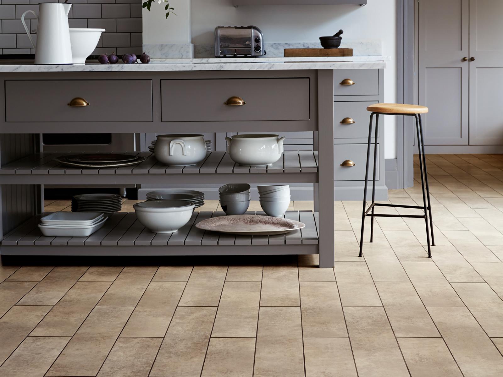 LVT for eye catching kitchens   Amtico flooring   Amtico Flooring