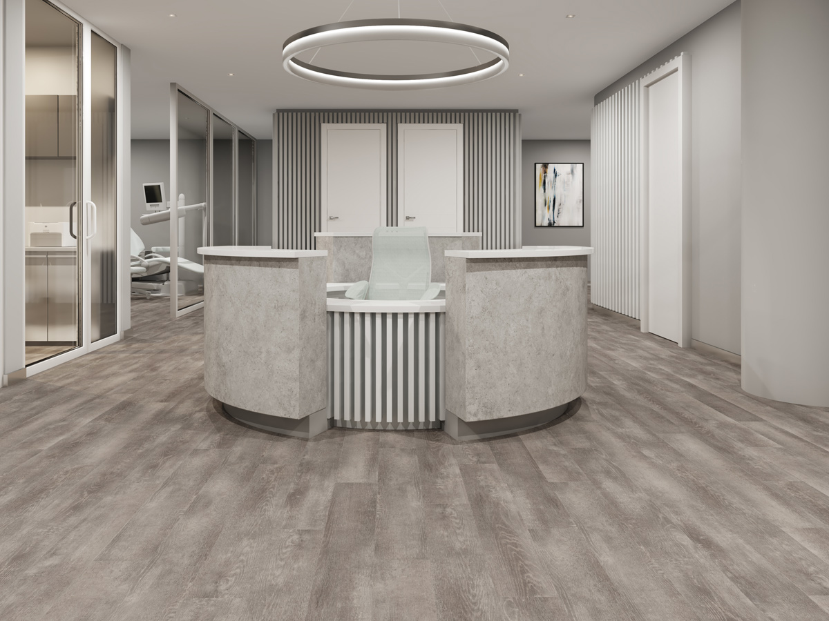 Amtico Signature, AR0W8320 Verbier Oak, Stripwood