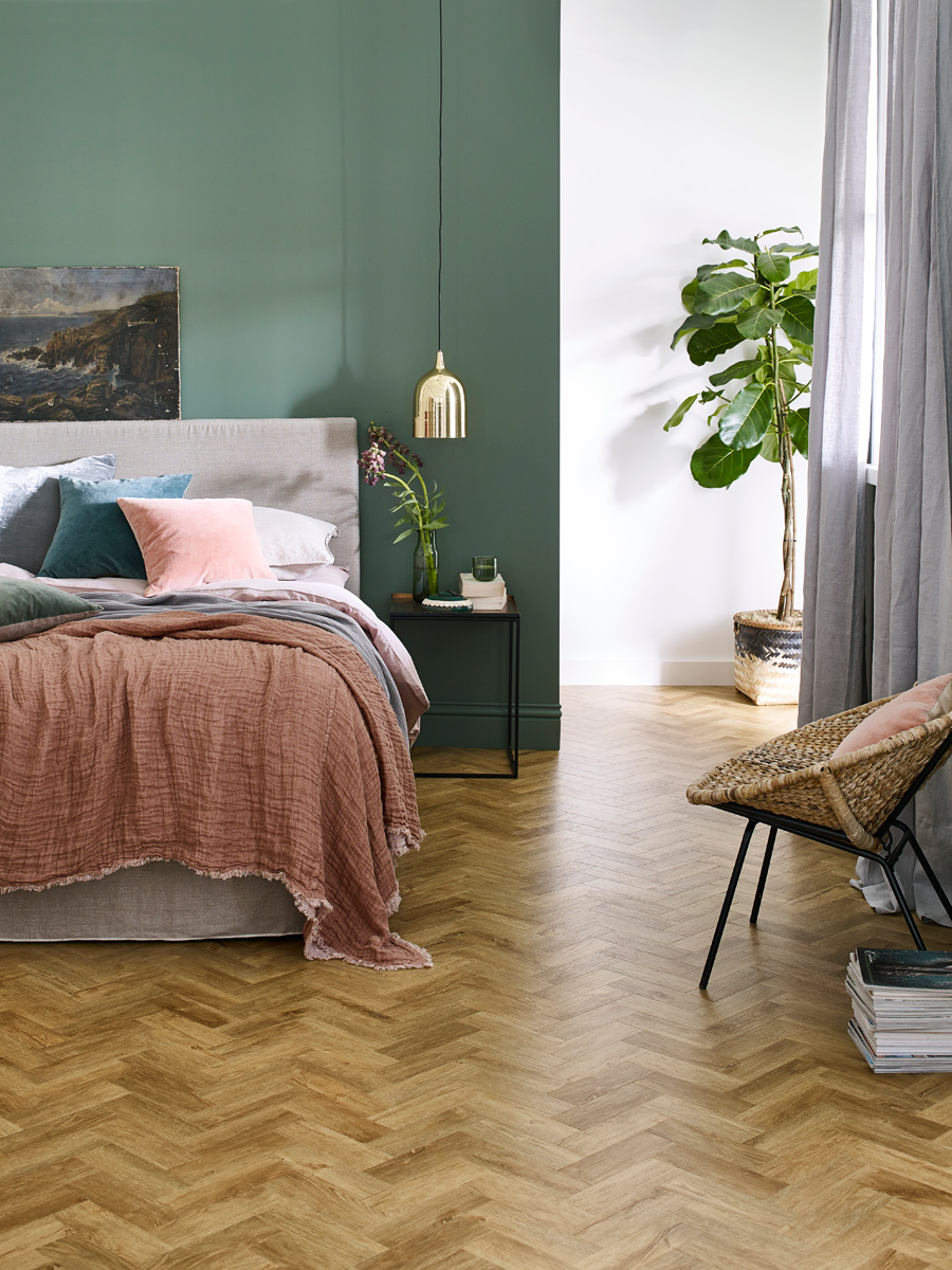 Rural Oak In Parquet Laying Pattern
