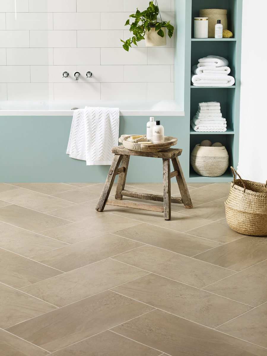 Silt In Herringbone Pattern