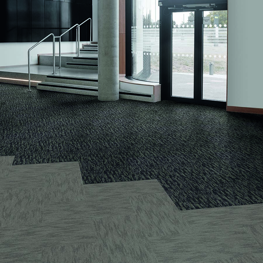 Featuring Entryway Charge Static with Amtico Signature Cadence Aeria.