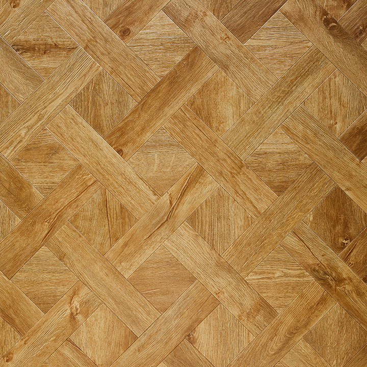 Rural Oak laid in a Basket Weave Laying Pattern.