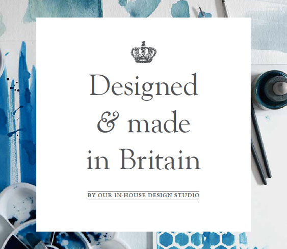Designed and made in Britain by our in house design studio