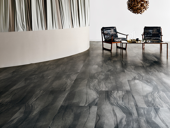 Luxury Vinyl Flooring Tiles LVT Design Flooring By Amtico - Shiny lino flooring