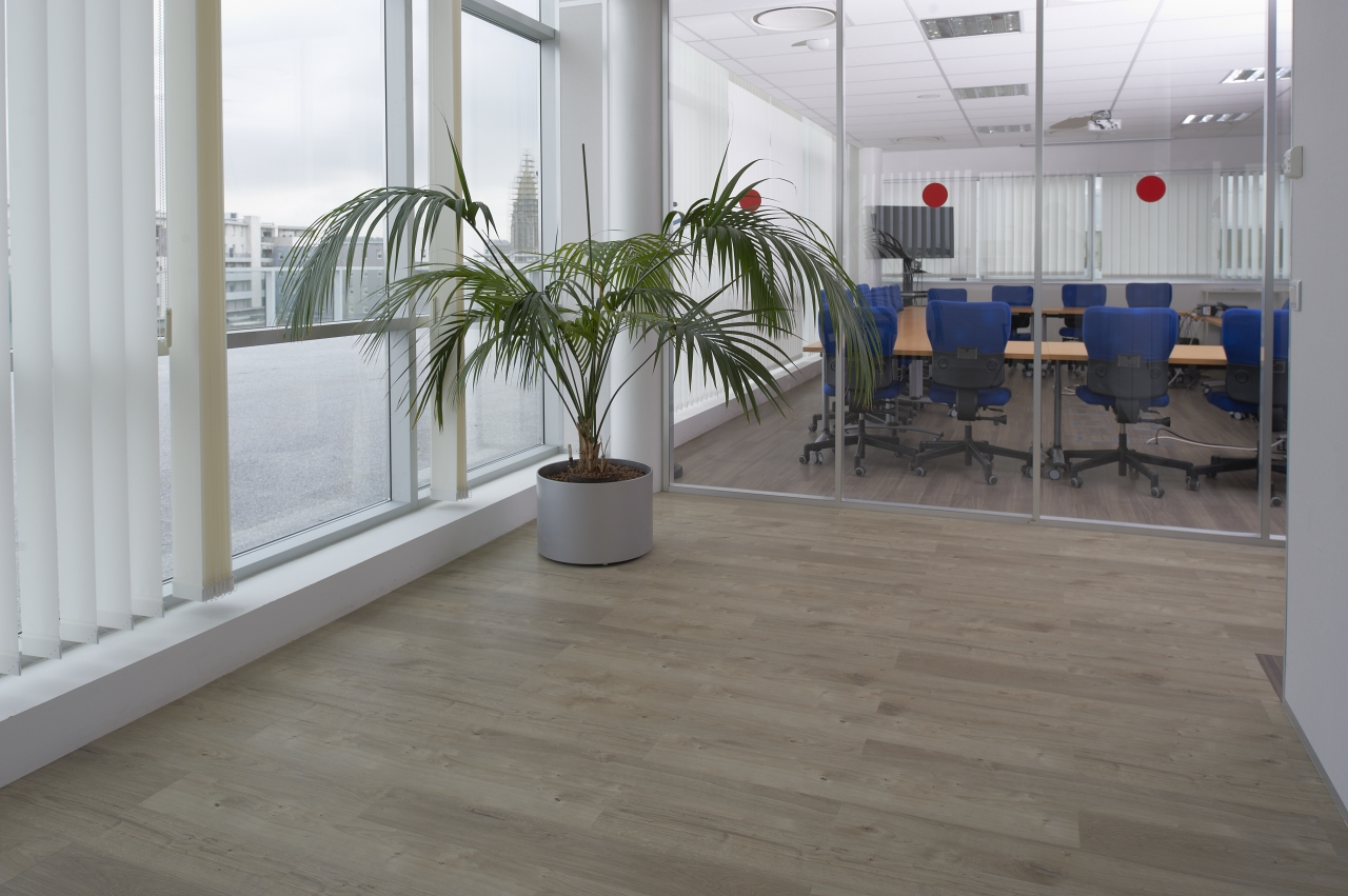 Sun Bleached Oak Commercial Lvt Flooring From The Amtico