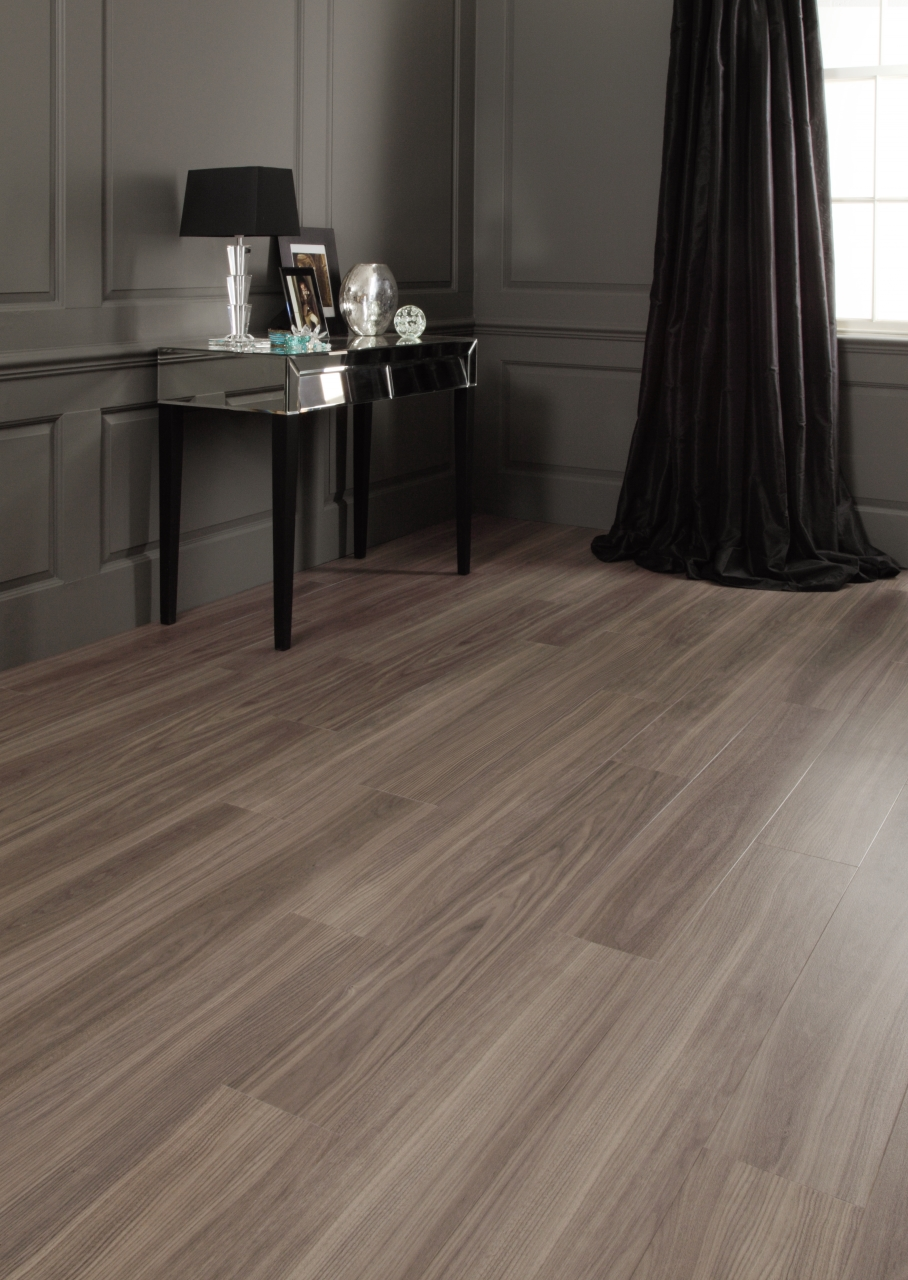 Dusky Walnut Commercial Lvt Flooring From The Amtico