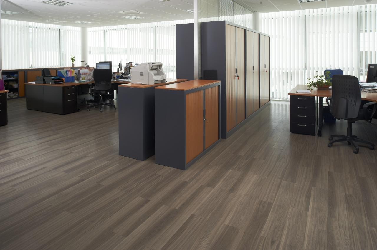 Dusky Walnut: Commercial LVT Flooring from the Amtico Spacia ...