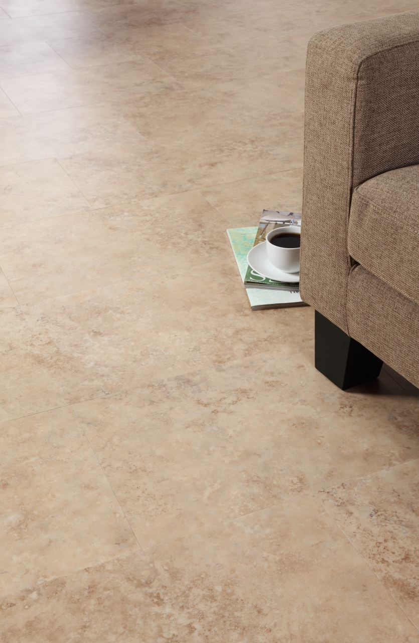 Amtico Spacia LVT in Noche Travertine (SS5S4590)
