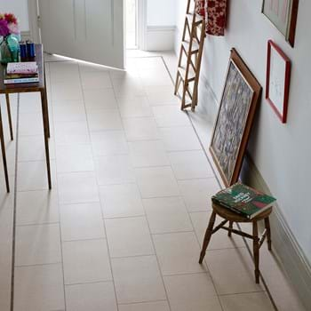Amtico Spacia LVT in Sift Stone Canvas (SS5S6133) in Broken Bond Laying Pattern